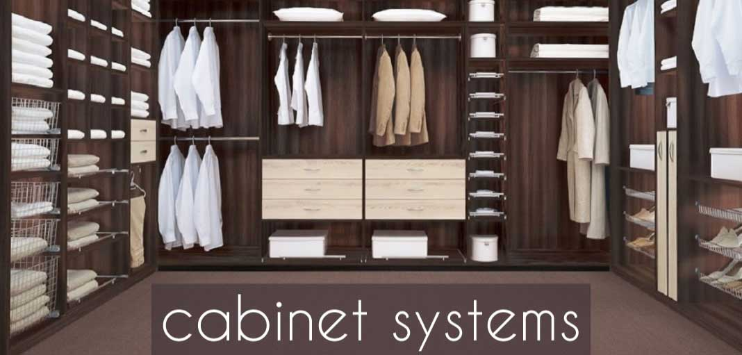 Cabinet Systems Are An Excellent Way To Add A Little Luxury To Your Home.  Choose From A Variety Of Rail Heights And Handy Pop Open Drawers, Designed  To Make ...