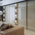 sliding glass wardrobe
