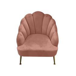 Blush pink bedroom chair, blush belfast