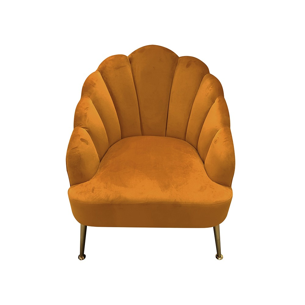 Belle Chair in Apricot